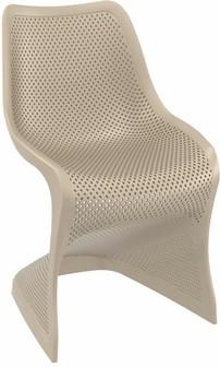 Compamia Bloom Dining Chair Dove Gray ISP048-DVR - RestaurantFurniturePlus + Chairs, Tables and Outdoor - 1