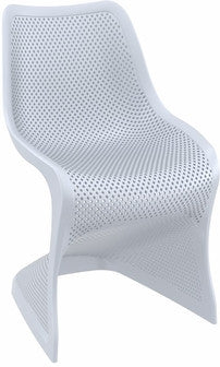 Compamia Bloom Dining Chair Silver Gray ISP048-SIL - RestaurantFurniturePlus + Chairs, Tables and Outdoor - 1