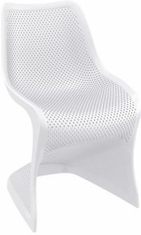Compamia Bloom Dining Chair White ISP048-WHI - RestaurantFurniturePlus + Chairs, Tables and Outdoor - 1