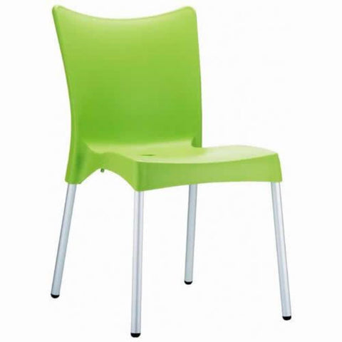 Compamia Juliette Resin Dining Chair Apple Green ISP045-APP - RestaurantFurniturePlus + Chairs, Tables and Outdoor