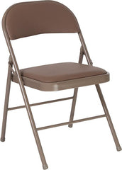 2 Pk. HERCULES Series Double Braced Folding Chair