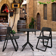 Dream Folding Outdoor Bistro Set with 2 Chairs