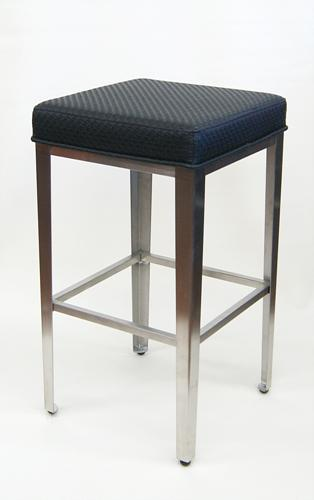 Stainless Steel Backless Bar Stool