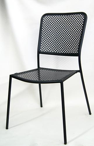 Outdoor Metal Side Chair