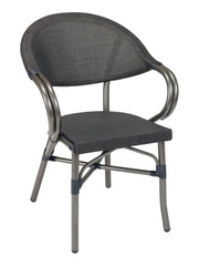 FS Aluminum Frame Armchair With Textilene Back