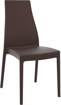 Compamia Miranda Dining Chair Brown ISP039-BRW - YourBarStoolStore + Chairs, Tables and Outdoor  - 1