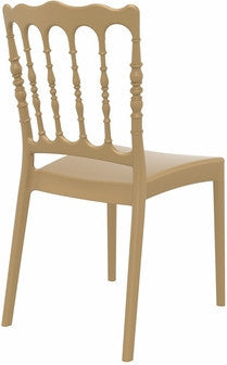 Compamia Napoleon Dining Chair Gold ISP044-GLD - YourBarStoolStore + Chairs, Tables and Outdoor  - 5