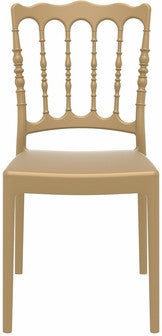 Compamia Napoleon Dining Chair Gold ISP044-GLD - YourBarStoolStore + Chairs, Tables and Outdoor  - 3