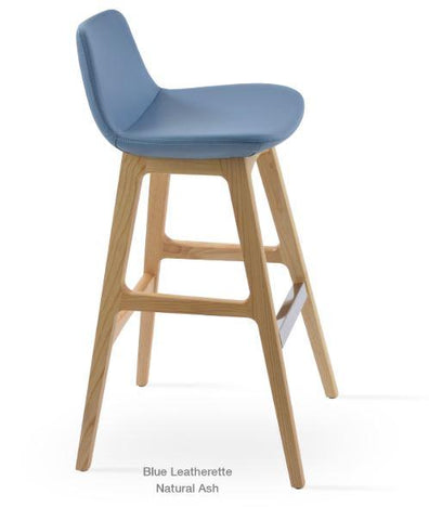 Pera Wood Bar Stool