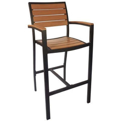 Outdoor Furniture Largo Arm Bar Stool