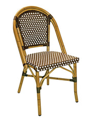 FS Hand Painted Aluminum Frame Chair With PE  Weave Back and Seat