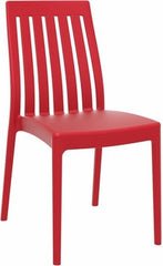 Compamia Soho Dining Chair Red ISP054-RED - YourBarStoolStore + Chairs, Tables and Outdoor  - 1