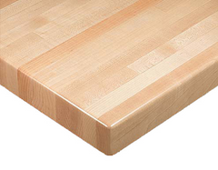 Solid Wood Economy Butcher Block Tabletop