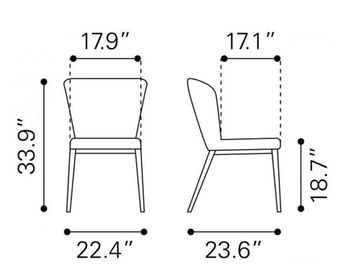 Tolivere Dining Chair
