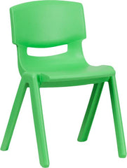 Plastic Stackable School Chair with 13.25'' Seat Height