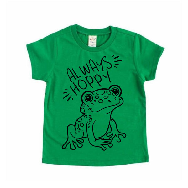 Always Hoppy frog tee