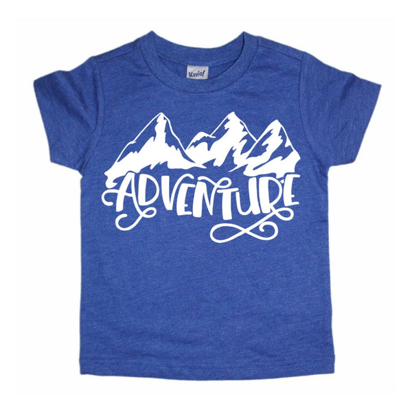 Adventure mountain tee
