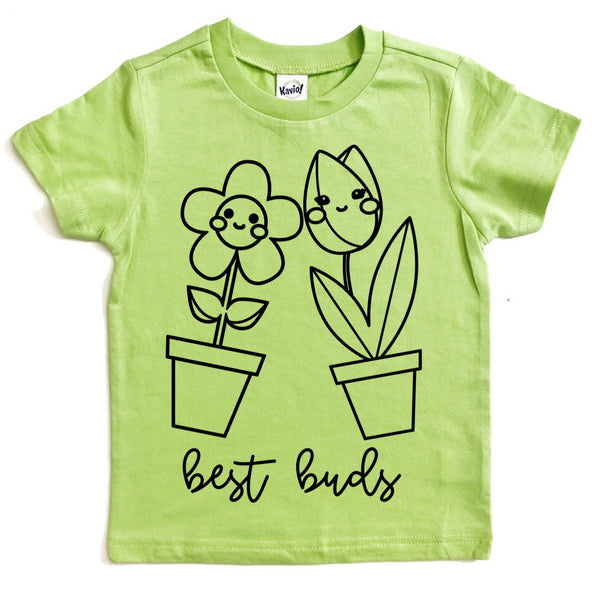 Best Buds flower tee / spring tee