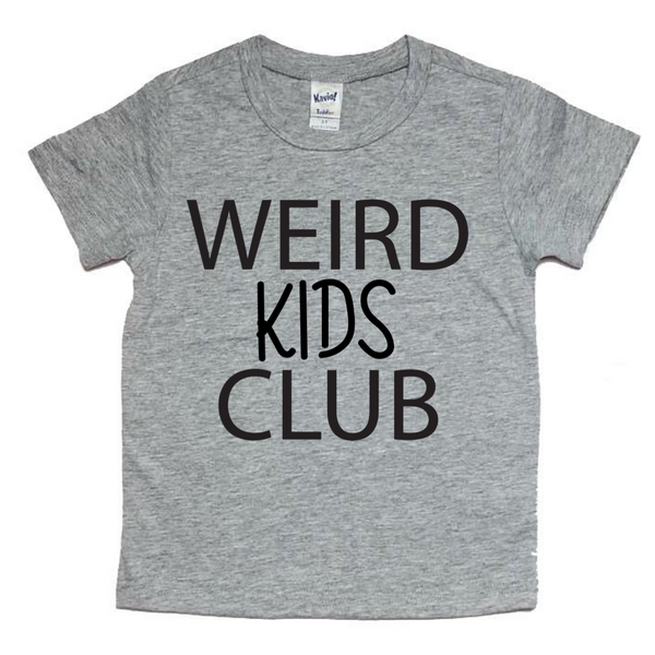 Weird Kids Club tee