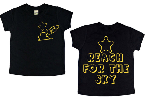 Reach for the Sky front/back tee