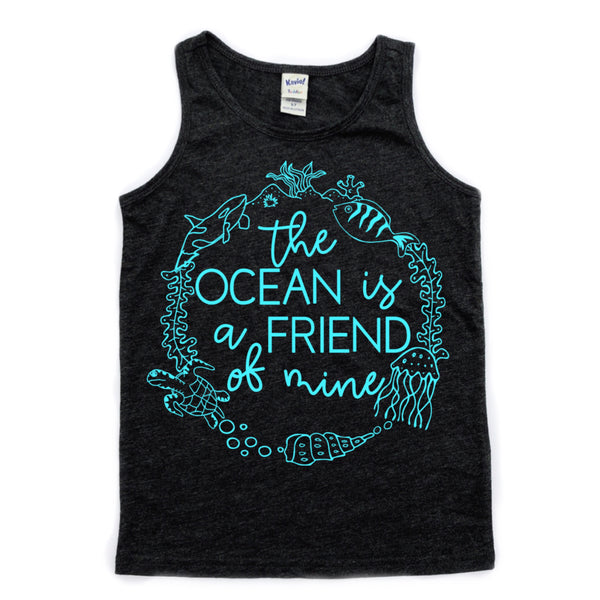Ocean is a Friend of Mine tank