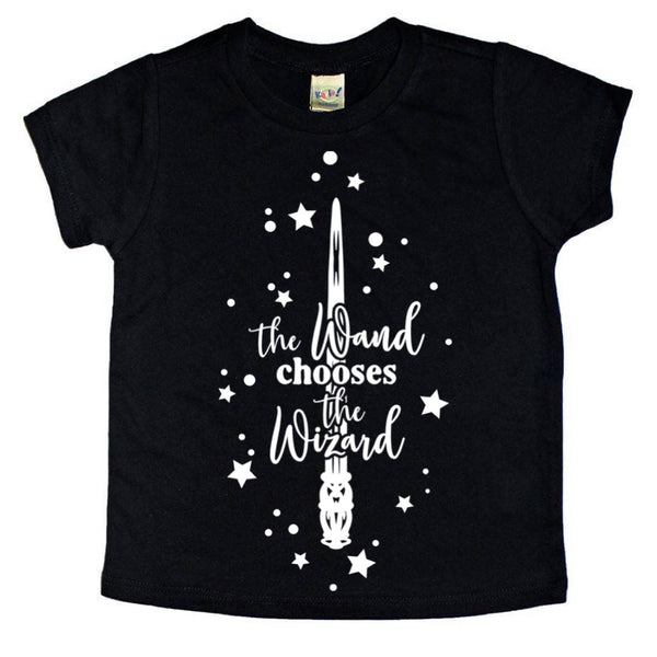 The Wand Chooses the Wizard tee