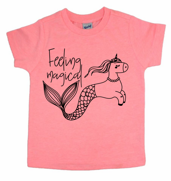 Feeling Magical Unicorn/Mermaid Shirt
