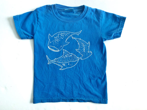 Speckled Sharks tee