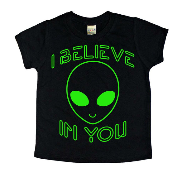 I Believe in You alien tee