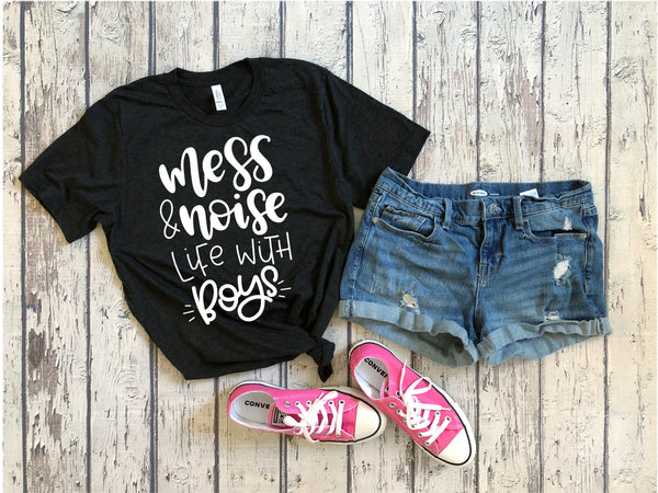 Mess and Noise, Life with Boys tee