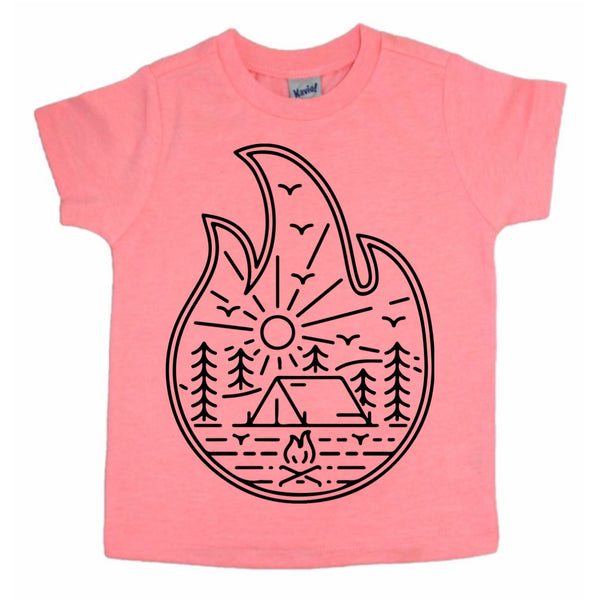 Campfire nature tee