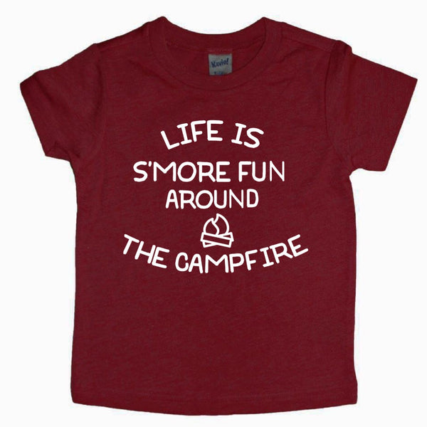 Life is S'More Fun Around the Campfire tee