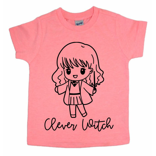 Clever Witch tee