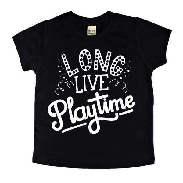 Long Live Playtime tee