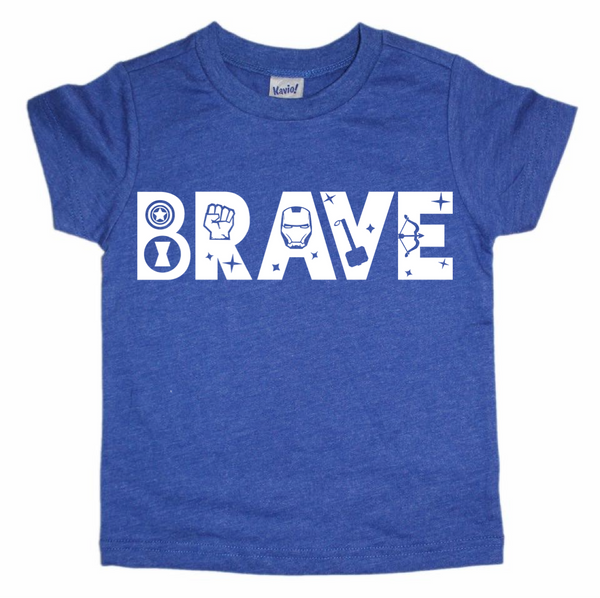 BRAVE superhero tee (Black Friday Exclusive)
