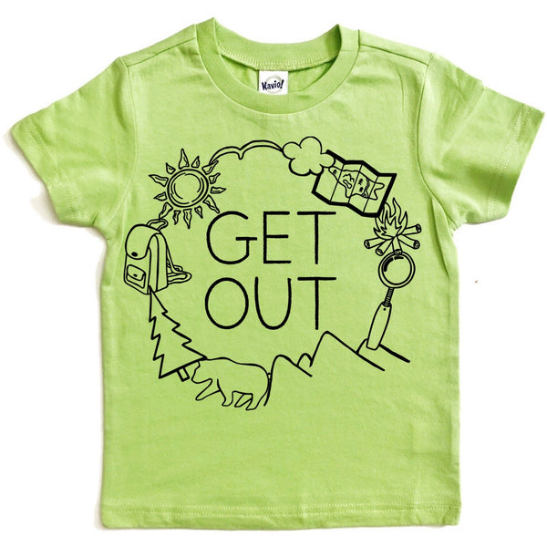 Get Out nature tee