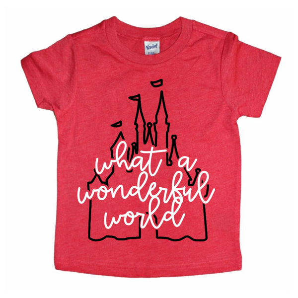 What a Wonderful World tee