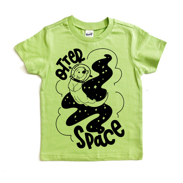 Otter Space tee