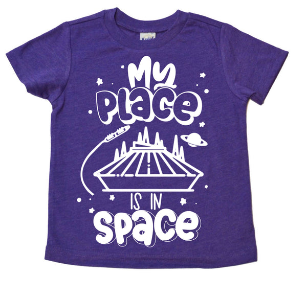 My Place is in Space tee