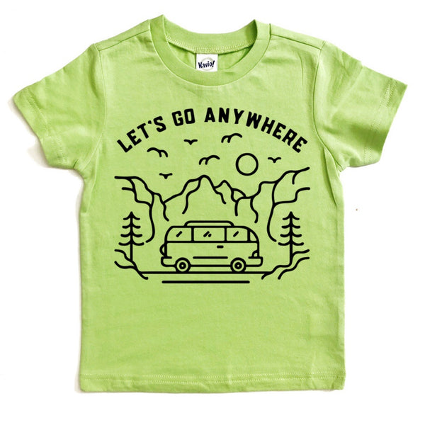 Let's Go Anywhere nature tee