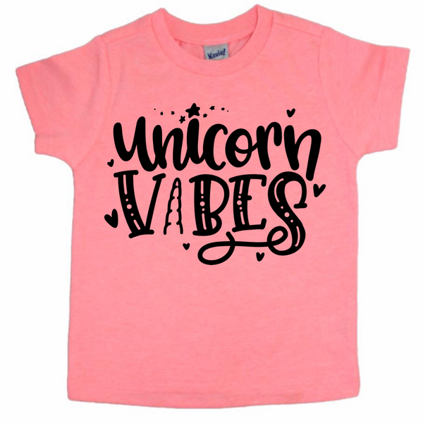 Unicorn Vibes tee