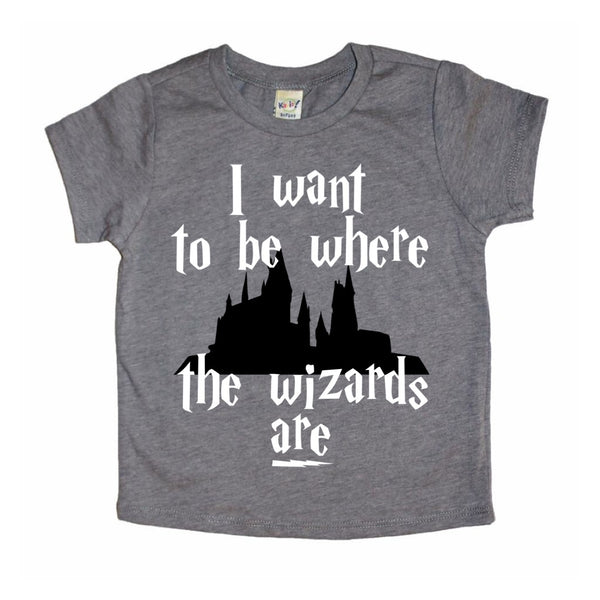 Where the Wizards Are tee