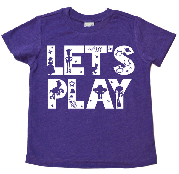 Let's Play tee