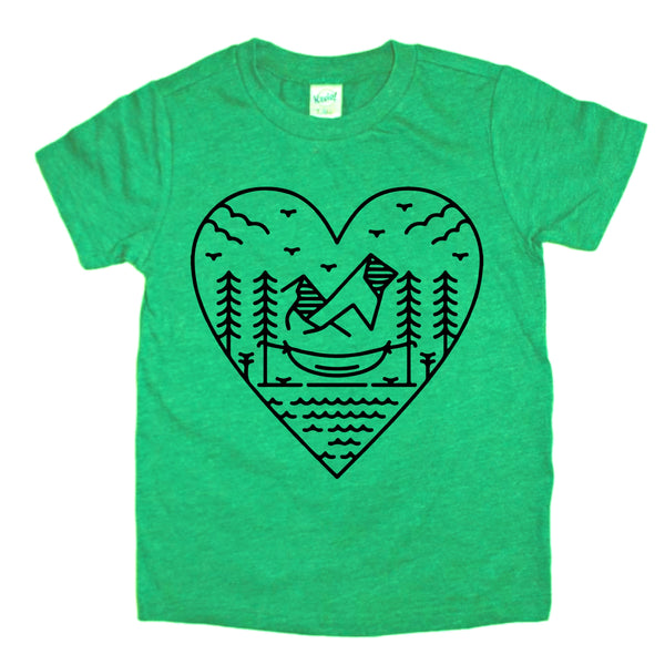 Mountain Love nature tee