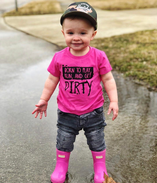 Born to Get Dirty tee