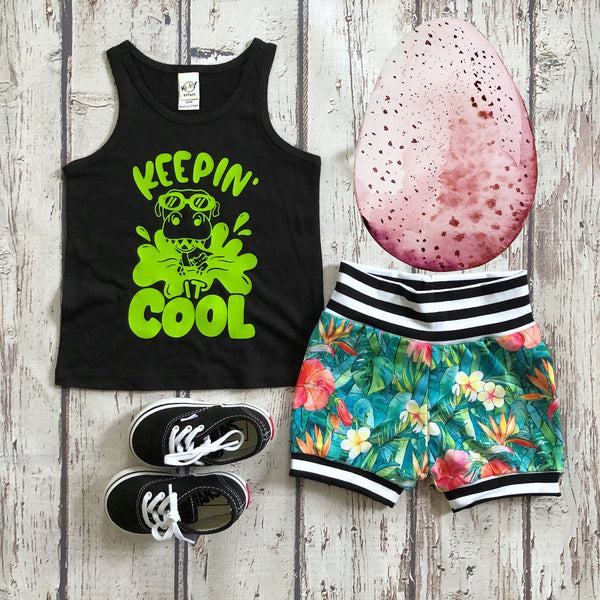 Keepin' It Cool dinosaur tank top