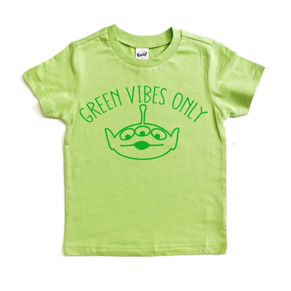 Green Vibes Only tee