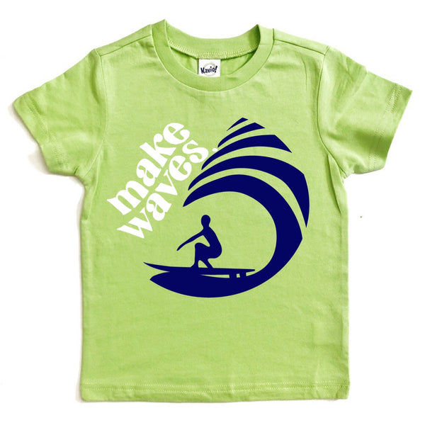Make Waves tee