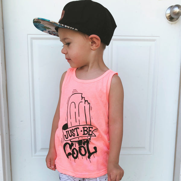 Just Be Cool popsicle tank