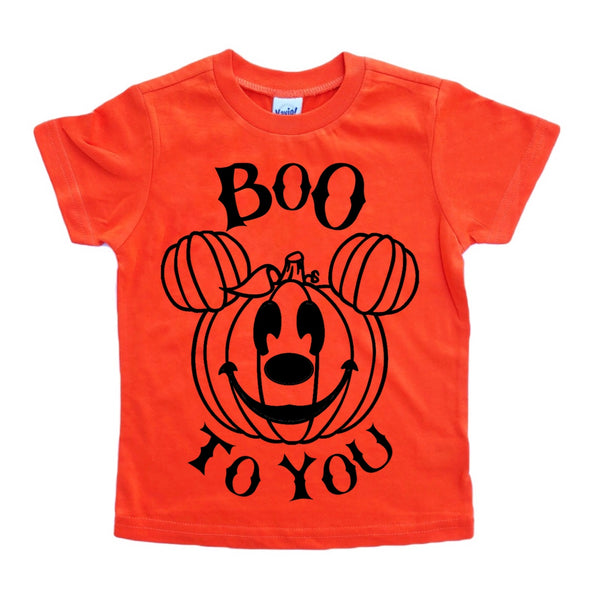 Boo to You tee